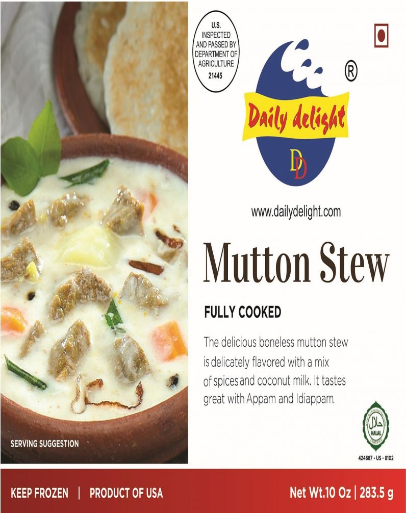 DAILY DELIGHT - MUTTON STEW
