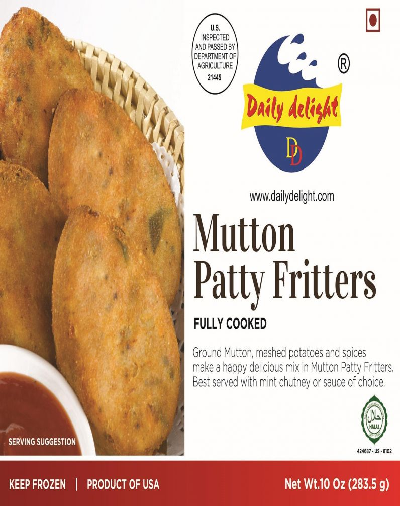 DAILY DELIGHT - MUTTON PATTY FRITTERS