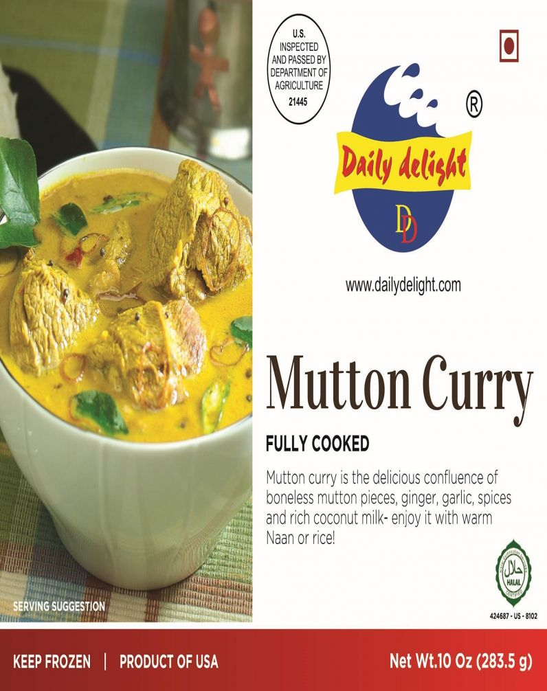 DAILY DELIGHT - MUTTON CURRY