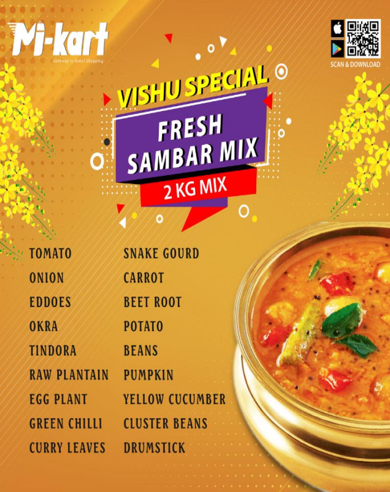 VISHU - SAMBAR MIX 2KG